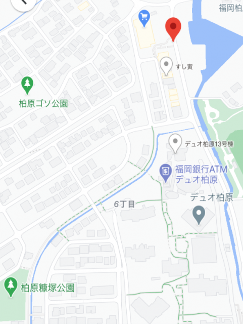 マルキョウ前 地図