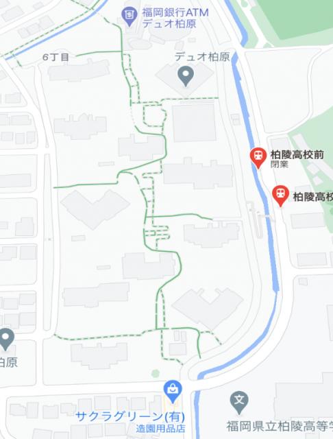 柏陵高校前 地図