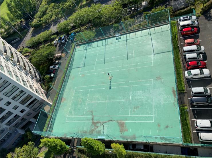 テニスコート 画像